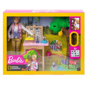 Barbie National Geographic Cuida das Borboletas Mattel Gdm49