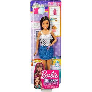 Barbie Skipper Babysitter Inc Morena Blusa de Bolinha Fhy89
