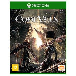 Jogo Midia Fisica Code Vein Bandai Original para Xbox One