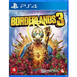 Jogo Novo Midia Fisica Borderlands 3 2k Original para Ps4