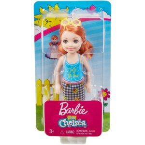 Mini Boneca Barbie Familia Club Chelsea Ruiva Mattel Dwj33