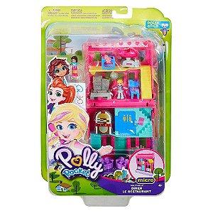 Polly Pocket Pollyville Micro Lojas Lanchonete Mattel Ggc29