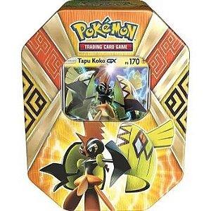 Lata Pokemon Tapu Koko Gx Original Copag
