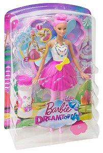 Boneca Barbie Dreamtopia Fada Bolhas Mágicas Mattel Dvm95