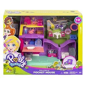 Boneca Polly Pocket Pollyville Casa da Polly Mattel Gfp42