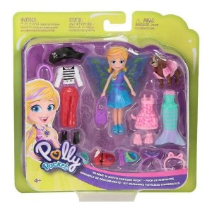 Polly Pocket Kit Cachorro Fantasias Combinadas Mattel Gdm15