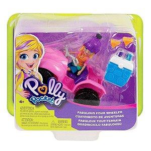 Boneca Polly Pocket e o Quadriciclo Fabuloso Mattel Gdm13