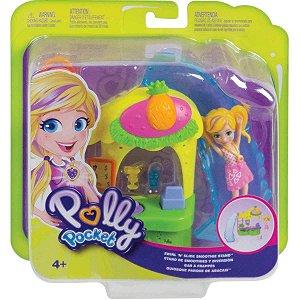 Boneca Polly Pocket Quiosque Parque de Abacaxis Mattel Gfr00