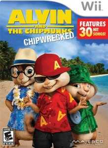 Jogo Alvin And The Chipmunks Chipwrecked Para Nintendo Wii