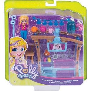 Polly Pocket Churrasco Divertido com Acessorios Mattel Gdm17