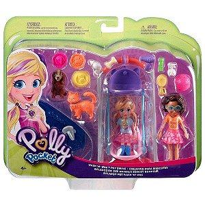 Polly Pocket Conjunto 2 Amigas Hora de Brincar Mattel Gfr06