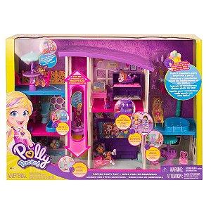 Polly Pocket Mega Casa de Surpresas da Polly Mattel Gfr12