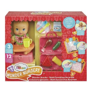 Little Mommy Bebe Lanchinhos Surpresa Churrasco Fofo Gfk75
