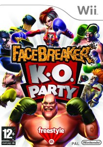 Jogo Facebreaker K.o. Party Original E Lacrado Nintendo Wii