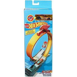 Hot Wheels Acrobacias Rei do Looping e Carrinho Mattel Fwm85
