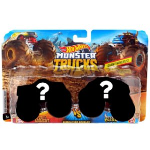 Hot Wheels Pack de 2 Carrinhos Monster Truck Surpresa Fyj64