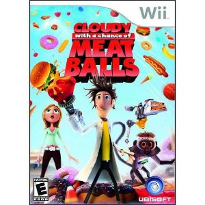 Jogo Lacrado Cloudy With A Chance Of Meatballs Nintendo Wii