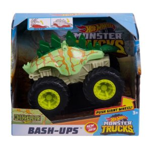 Hot Wheels Bash Ups Monster Trucks Carrinho Surpresa Gcf94