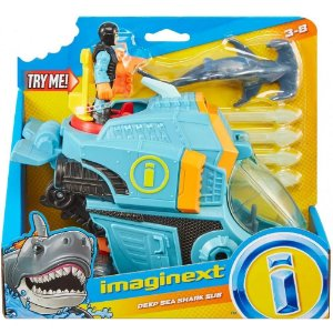 Imaginext Oceano Rastreador de Tubaroes Fisher Price Gkg78