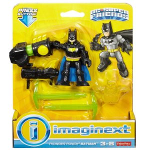 Imaginext Dc Super Friends Batman e Luva Super Soco M5645