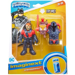 Imaginext Dc Super Friends Lobo da Estepe e Armadura M5645