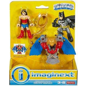 Imaginext Dc Super Friends Mulher Maravilha e Uniforme M5645
