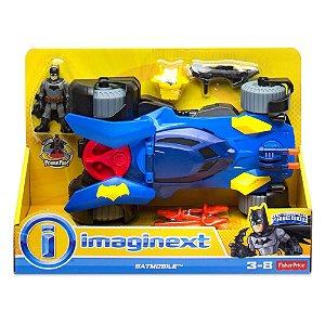 Imaginext Dc Super Friends Super Batmovel Fisher Price Dht64
