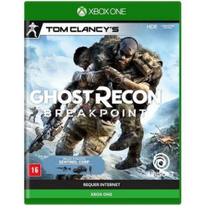 Jogo Midia Fisica Tom Clancys GhostRecon Breakpoint Xbox One