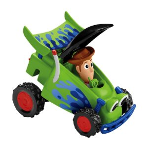 Toy Story 4 Veiculo Carrinho RC e Woody Fisher Price Gfc83