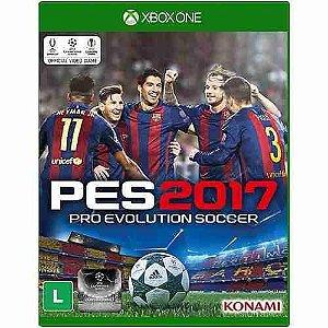 Jogo Mídia Física Pro Evolution Soccer 17 Pes 2017 Xbox One