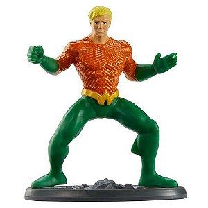 Mini Figura DC Comics Liga da Justiça Aquaman Mattel Ggj13