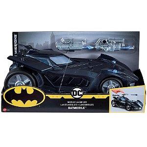 Batman Missions DC Batmovel Lançador de Misseis Mattel Fvm60