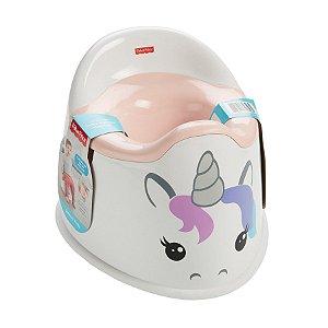 Troninho Infantil Bebe Unicornio Magico Fisher Price Gcj73