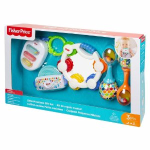 Brinquedo Infantil Kit Diversao Musical Fisher Price Ggl18