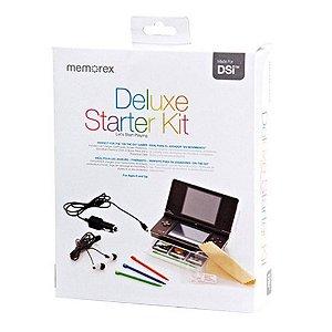 Kit de Acessorios para Nintendo Dsi Deluxe Starter Memorex