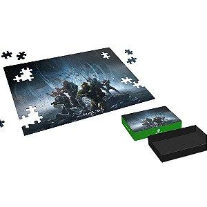 Quebra Cabeça Puzzle Halo 5 Jogo do Xbox One com 150 Peças