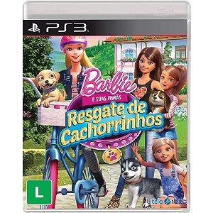 Jogo Novo Barbie e Suas Irmas Resgate de Cachorrinhos Ps3