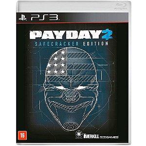 Jogo Midia Fisica Payday 2 Safecracker Edition Novo para Ps3