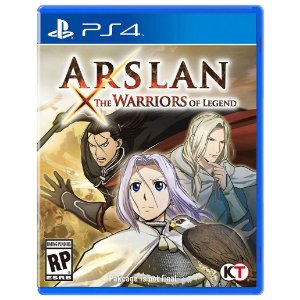 Jogo Novo Midia Fisica Arslan The Warriors of Legend pra Ps4