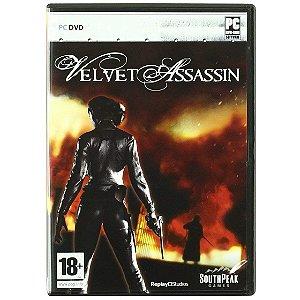 Jogo Midia Fisica Velvet Assassin Original pra Pc Computador