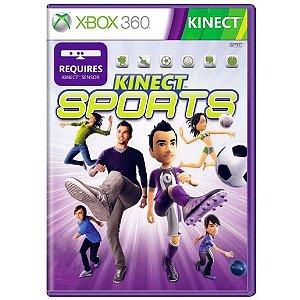 Jogo Novo Midia Fiscia Kinect Sports Original para Xbox 360