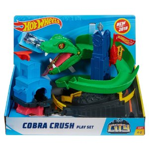 Brinquedo Hot Wheels City Pista Ataque de Cobra Mattel Fnb20