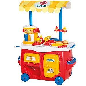 Brinquedo Lanchonete Completa com Acessorios Calesita 0352