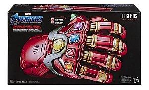 Manopla Endgame Eletronica 49cm Marvel Legends Hasbro E6253