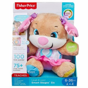 Pelucia Eletronica Irma do Cachorrinho Fisher Price Fvc81