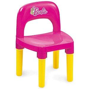 Brinquedo Cadeira para Mesa Fabulosa Rosa Barbie Fun BB6010