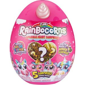 Brinquedo Pelucia Surpresa Rainbocorns Squeezy Candide 2606