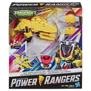 Power Rangers Zord Conversivel 2 em 1 Fera Helicoptero E5895