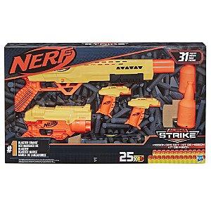 Lançador Nerf Alpha Strike Kit Missao Secreta Hasbro E8342