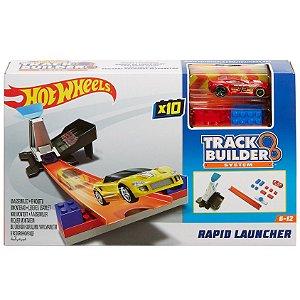 Hot Wheels Track Builder System Lançador Rapido Mattel Dnh84